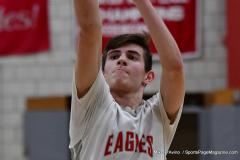 CIAC Boys Basketball; Wolcott 69 vs. East Hampton 63 - Photo # 1022