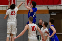 CIAC Boys Basketball; Wolcott 69 vs. East Hampton 63 - Photo # 1025