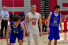 CIAC Boys Basketball; Wolcott 69 vs. East Hampton 63 - Photo # 1032