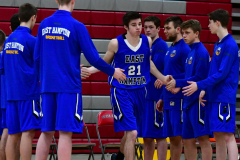 CIAC Boys Basketball; Wolcott 69 vs. East Hampton 63 - Photo # 225
