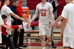 CIAC Boys Basketball; Wolcott 69 vs. East Hampton 63 - Photo # 266