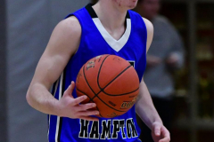 CIAC Boys Basketball; Wolcott 69 vs. East Hampton 63 - Photo # 313