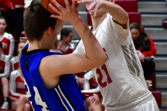 CIAC Boys Basketball; Wolcott 69 vs. East Hampton 63 - Photo # 320