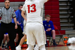 CIAC Boys Basketball; Wolcott 69 vs. East Hampton 63 - Photo # 351