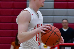 CIAC Boys Basketball; Wolcott 69 vs. East Hampton 63 - Photo # 374
