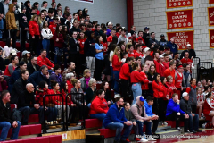 CIAC Boys Basketball; Wolcott 69 vs. East Hampton 63 - Photo # 399