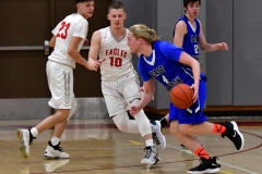 CIAC Boys Basketball; Wolcott 69 vs. East Hampton 63 - Photo # 409
