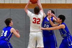 CIAC Boys Basketball; Wolcott 69 vs. East Hampton 63 - Photo # 416