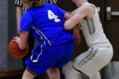 CIAC Boys Basketball; Wolcott 69 vs. East Hampton 63 - Photo # 430
