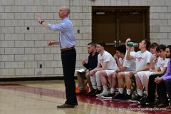 CIAC Boys Basketball; Wolcott 69 vs. East Hampton 63 - Photo # 591