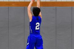 CIAC Boys Basketball; Wolcott 69 vs. East Hampton 63 - Photo # 592