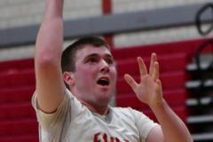 CIAC Boys Basketball; Wolcott 69 vs. East Hampton 63 - Photo # 595