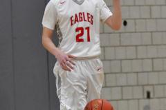 CIAC Boys Basketball; Wolcott 69 vs. East Hampton 63 - Photo # 614