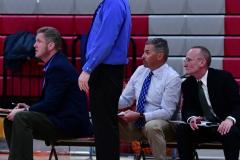 CIAC Boys Basketball; Wolcott 69 vs. East Hampton 63 - Photo # 620