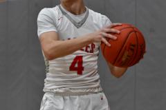 CIAC Boys Basketball; Wolcott 69 vs. East Hampton 63 - Photo # 627