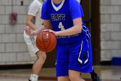 CIAC Boys Basketball; Wolcott 69 vs. East Hampton 63 - Photo # 631