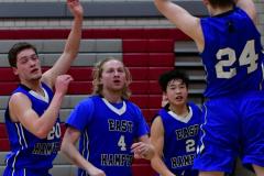 CIAC Boys Basketball; Wolcott 69 vs. East Hampton 63 - Photo # 651