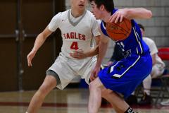 CIAC Boys Basketball; Wolcott 69 vs. East Hampton 63 - Photo # 654