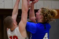CIAC Boys Basketball; Wolcott 69 vs. East Hampton 63 - Photo # 666