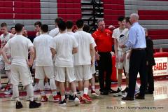 CIAC Boys Basketball; Wolcott 69 vs. East Hampton 63 - Photo # 730