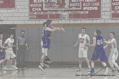 CIAC Boys Basketball; Wolcott 69 vs. East Hampton 63 - Photo # 740