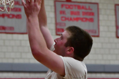 CIAC Boys Basketball; Wolcott 69 vs. East Hampton 63 - Photo # 753
