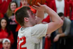 CIAC Boys Basketball; Wolcott 69 vs. East Hampton 63 - Photo # 775