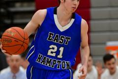 CIAC Boys Basketball; Wolcott 69 vs. East Hampton 63 - Photo # 817