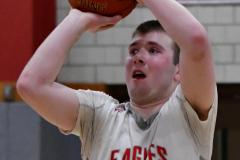 CIAC Boys Basketball; Wolcott 69 vs. East Hampton 63 - Photo # 921