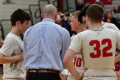 CIAC Boys Basketball; Wolcott 69 vs. East Hampton 63 - Photo # 971