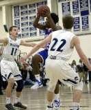 CIAC Boys Basketball; Class L Tournament QF'S - #6 Wilton 65 vs. #14 Crosby 61 - Photo # (116)