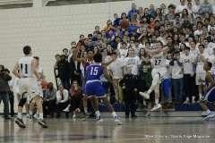 CIAC Boys Basketball; Class L Tournament - #6 Wilton 65 vs. #14 Crosby 61 - Photo # (138)