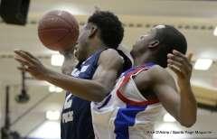 Gallery CIAC Boys Basketball; Class L Tournament FR, #14 Crosby 70 vs. #19 Hartford Public 68 - Photo # (64)