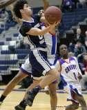 Gallery CIAC Boys Basketball; Class L Tournament FR, #14 Crosby 70 vs. #19 Hartford Public 68 - Photo # (83)