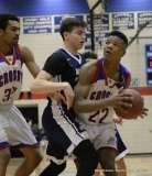 Gallery CIAC Boys Basketball; Class L Tournament FR, #14 Crosby 70 vs. #19 Hartford Public 68 - Photo # (94)
