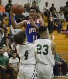 Gallery CIAC Boys Basketball; Class L Tournament SR - #3 Bassick 74 vs. #14 Crosby 82 - Photo # (113)