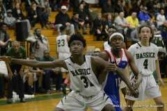 Gallery CIAC Boys Basketball; Class L Tournament SR - #3 Bassick 74 vs. #14 Crosby 82 - Photo # (115)
