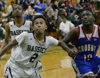 Gallery CIAC Boys Basketball; Class L Tournament SR - #3 Bassick 74 vs. #14 Crosby 82 - Photo # (157)