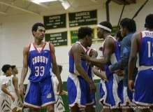 Gallery CIAC Boys Basketball; Class L Tournament SR - #3 Bassick 74 vs. #14 Crosby 82 - Photo # (173)