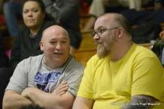 Gallery CIAC Boys Basketball; Class L Tournament SR - #3 Bassick 74 vs. #14 Crosby 82 - Photo # (182)