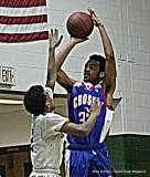 Gallery CIAC Boys Basketball; Class L Tournament SR - #3 Bassick 74 vs. #14 Crosby 82 - Photo # (192)