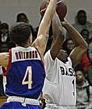 Gallery CIAC Boys Basketball; Class L Tournament SR - #3 Bassick 74 vs. #14 Crosby 82 - Photo # (94)