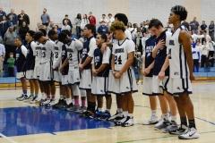 CIAC Boys Basketball State Class M Tournament FR - #11 Ansonia 52 vs #22 Tolland 50 - Photo (4)