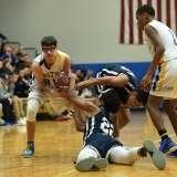 CIAC Boys Basketball - Class M SR - #16 Seymour 92 vs. #32 Ansonia 66 - Photo # (100)
