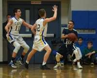 CIAC Boys Basketball - Class M SR - #16 Seymour 92 vs. #32 Ansonia 66 - Photo # (20)
