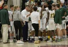 Gallery CIAC Boys Basketball; Class M Tournament - #4 Holy Cross 65 vs. #8 Bloomfield 74 - Photo # (147)