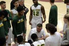 Gallery CIAC Boys Basketball; Class M Tournament - #4 Holy Cross 65 vs. #8 Bloomfield 74 - Photo # (178)