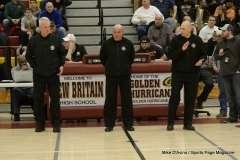 Gallery CIAC Boys Basketball; Class M Tournament - #4 Holy Cross 65 vs. #8 Bloomfield 74 - Photo # (41)