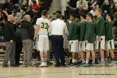 Gallery CIAC Boys Basketball; Class M Tournament - #4 Holy Cross 65 vs. #8 Bloomfield 74 - Photo # (54)