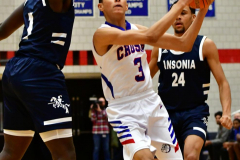 CIAC Boys Basketball; Crosby 103 vs. Ansonia 54 - Photo # 077